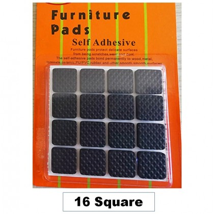 Foot Pad Rubber Grippers Self Adhesive Thick Chair Leg Floor Protectors and Furniture Stoppers for Fixation Furniture