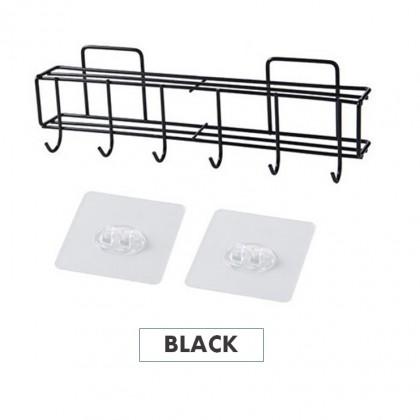 Multipurpose Storage Organizer Shelf Kitchen Knife Rack Wall-Mounted Space-Saving Drain Rack Kitchen