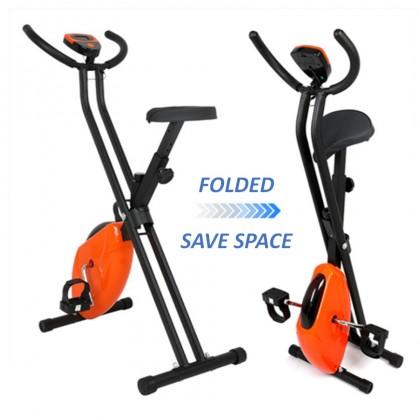 BeyondB Fitness Folding Exercise Bike Indoor  Home Spinning Bike Gym Bike