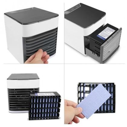 Mini Portable Air Conditioner USB Portable Air Cooler Purifier Air Conditioner Mini Aircooler Fan  Air Cooler Table