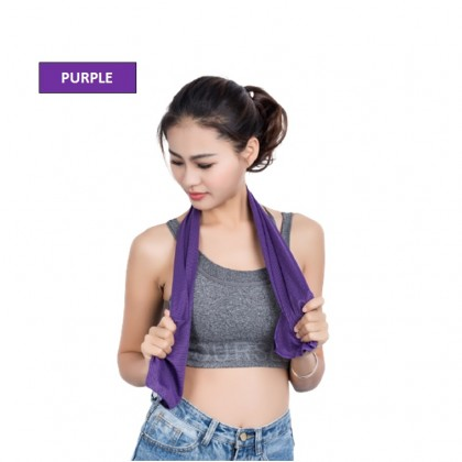 BeyondB Soft Breathable Two-Color Towel Sports Sweat-Absorbent Ice Towel Fashion Gym Unisex