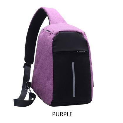 Anti Theft USB Charging Sling Crossbody Bag Anti Theft Backpack (3 Color Option)