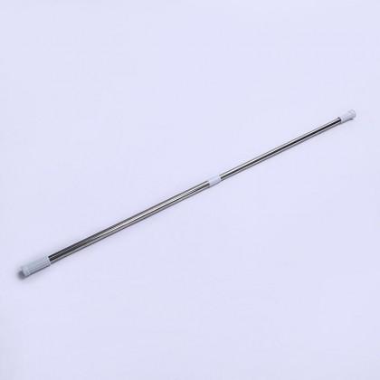 Telescopic Adjustable Curtain Rod Retractable Shower Curtain Hanging Rod (140-260 cm)