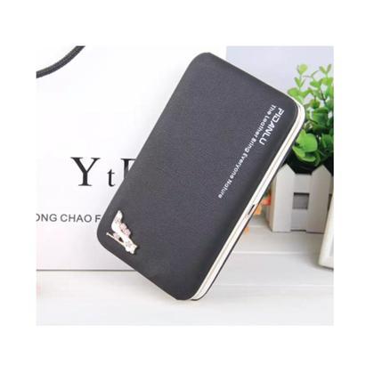 Korean Fashion Elegant Lady Handphone Wallet Card Holder Long Clutch Purse